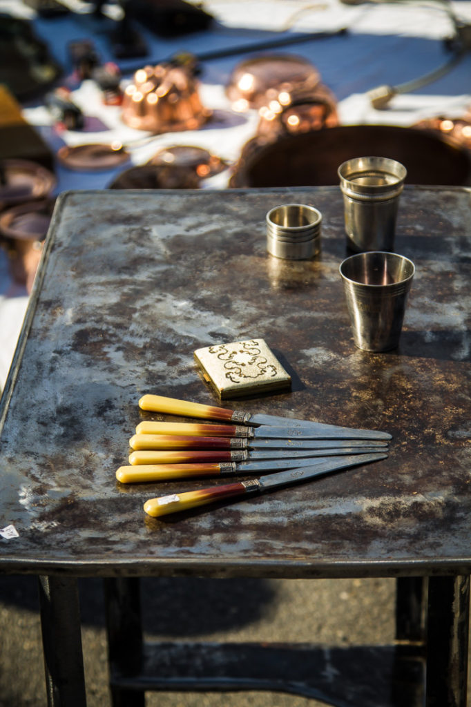 Sunday's Brocante in Carpentras
